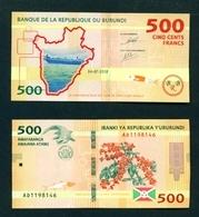 BURUNDI - 2018 500 Francs UNC - Burundi