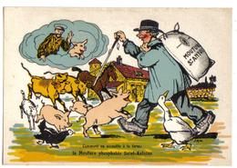HUMOUR Et PUB - Comment On Accueille à La Ferme - Mouture Phosphatée Saint-Antoine - Moulin St-Léonard ( 87 ) - Humour