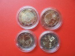 LOT De 2 EURO ESTONIE 4 MONNAIES Entre 2012 Et 2018 QUALITE UNC - EURO
