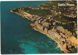 Mallorca - Santa Ponsa - Vista Parcial Aérea - Hotels - Piscina / Swimming-pool - (Espana/Spain) - Mallorca