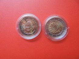 LOT De 2 EURO IRLANDE 2 MONNAIES Entre 2012 Et 2015 QUALITE UNC - EURO