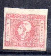 Sello  Nº 15  Buenos Aires - Buenos Aires (1858-1864)