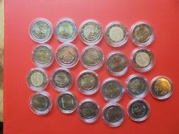 LOT De 2 EURO FINLANDE 21 MONNAIES Entre 2004(RARE !) Et 2017 QUALITE UNC - EURO