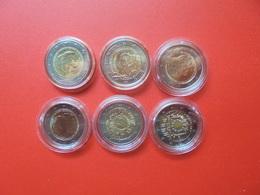 LOT De 2 EURO PAYS-BAS 6 MONNAIES Entre 2012 Et 2015 QUALITE UNC - EURO