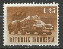 TIMBRE - Indonesie 1964 Transport Truck 1.25r - Neuf - Indonesia