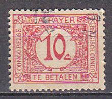 A0255 - CONGO BELGE TAXE Yv N°67 - Congo Belga