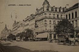Antwerpen - Anvers / Avenue De Keyser ( Tram En Artois Paard En Wagen) 190? - Antwerpen