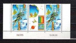 Nlle CALEDONIE  PA N° 348A   NEUF SANS CHARNIERE  COTE 7.00€   AVION ECRIVAIN AVIATEUR SAINT EXUPERY - Airmail