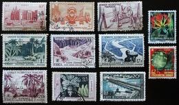 A.O.F Lot De 11 Timbres Oblitérés - A.O.F. (1934-1959)