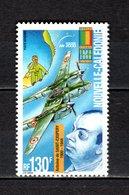 Nlle CALEDONIE  PA N° 348  NEUF SANS CHARNIERE  COTE 3.20€   AVION ECRIVAIN AVIATEUR SAINT EXUPERY - Airmail