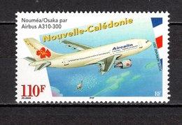 Nlle CALEDONIE  PA N° 349  NEUF SANS CHARNIERE  COTE 2.90€   AVION - Airmail