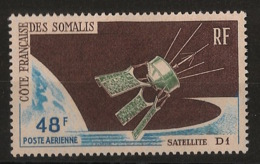 Cote Des Somalis - 1965 - Poste Aérienne PA N°Yv. 48 - Satellite D1 - Neuf Luxe ** / MNH / Postfrisch - Afrika