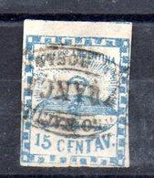 Sello  Nº 3  Argentina, - 1858-1861 Confederazione