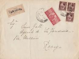 Busta - Raccomandata 100 Lire Democratica - 6. 1946-.. Repubblica