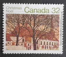 1983 Christmas, Churches, Noël, Canada, *,**, Or Used - 1952-.... Reign Of Elizabeth II