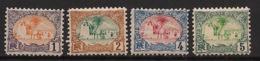 Côte Des Somalis - 1902 - N°Yv. 37 - 38 - 39 - 40 - Mosquée - 4 Valeurs - Neuf Luxe ** / MNH / Postfrisch - Neufs