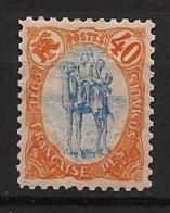 Côte Des Somalis - 1902 - N°Yv. 47 - Méhariste 40c - Neuf Luxe ** / MNH / Postfrisch - Neufs