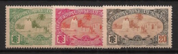 Côte Des Somalis - 1909 - N°Yv. 70 - 71 - 72 - Mosquée De Tadjourah 5c / 10c / 20c - Neuf Luxe ** / MNH / Postfrisch - Neufs