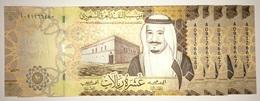 SAUDI ARABIA 10 Riyals 2017 P-39b - 5 UNC Banknotes Consecutives - Saoedi-Arabië