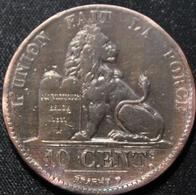 BELGIE LEOPOLD I 10 CENT 1847  Mooie Kwaliteit  2 SCANS - 1831-1865: Leopold I