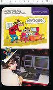 Humour Micro-ordinateur Salon De La Micro-Informatique à Paris Moniteur Goupil / D36 - Old Paper