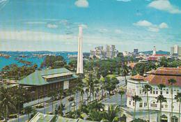 SINGAPORE - Beach Road With Raffles Hotel 1976 - Singapore