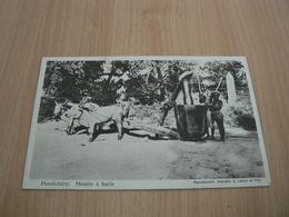 CP09/ INDE PONDICHERY MOULIN A HUILE / CARTE NEUVE - India