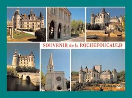 16 La Rochefoucauld Le Chateau Halles Tardoire Pont Eglise ( Multivues ) Editions Tepec Limoges - Autres Communes