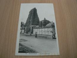 CP09/ INDE PONDICHERY PAGODE D ISPARANE / CARTE NEUVE - India