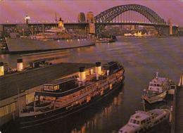 AUSTRALIA - Sydney 1969 - Sydney Harbour At Night - Sydney