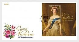 Jersey 2019 - Queen Victoria 200th Birth Anniversary FDC - Jersey