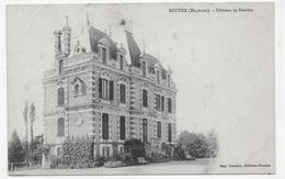 BOUERE - CHATEAU DE DAVIERS - CPA NON VOYAGEE - Frankrijk