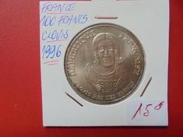 """FRANCE 100 FRANCS """"BAPTEME DE CLOVIS"""" 1996 ARGENT (A.7) - France"""