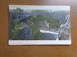 Africa / Zambesi River Bridge And Gorge -> Unwritten - Zimbabwe
