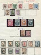 13022 LIBYE Collection Vendue Par Page : N°1/4, 6/10, 14/7, 20/1, 22/31 °/  1912 - 21   B/TB - Libya