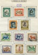 13020 LIBERIA Collection Vendue Par Page :Service N° 90/6, 102, 105/7, 108/11 */(*)/ °  1923-28   B/TB - Liberia