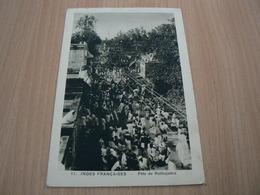 CP09/ INDES FRANCAISES FETE DE ROTHOJATTRA / CARTE NEUVE - India
