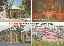 AUSTRALIA - Darwin - Before And After Cyclone Tracy - Darwin