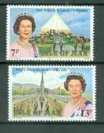 Man 1979; Royal Visit, Michel 150-151.** (MNH) - Isle Of Man