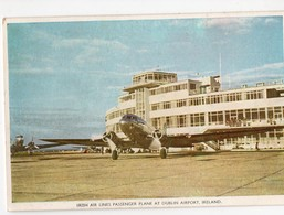 (aviation) Dublin (Irlande) AIRPORT   Irish Air Lines Passenger Plane (PPP18416) - Aérodromes