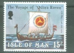 Man 1979; The Voyage Of Odin's Raven - Michel 156.** (MNH) - Isle Of Man