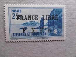S P M   P 269 * *   SERIE COURANTE - St.Pierre Et Miquelon