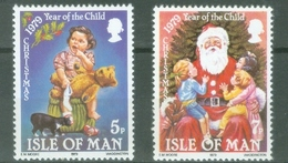 Man 1979; Year Of The Child / Christmas, Michel 157-158.** (MNH) - Isle Of Man