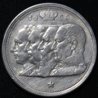 BELGIE  100 FRANC  REGENTSCHAP 1950  FRANS  2 SCANS - 1945-1951: Régence