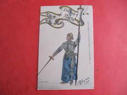 CPA - Illustrateur : PAYONNE - JEANNE D'ARC   - J.M.T. Paris - Guerra 1914-18