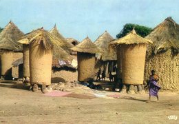 Côte D'Ivoire - Village Senoufo - Ivory Coast
