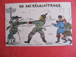 CPA - Illustrateur : PAYONNE - SOLDATS ALLEMAND ET ITALIEN   - J.M.T. Paris - Guerra 1914-18