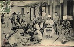 Cp Saigon Cochinchine Vietnam, Camp Des Mares, Le Repas Des Tirailleurs Punis De Prison - Viêt-Nam