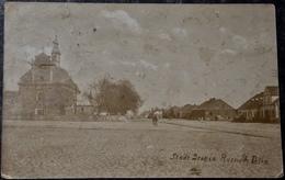 POLEN POLAND POLOGNE - DROBIN - 1915 Central Square - Feldpost - Photo Card - Polen