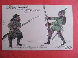 CPA - Illustrateur : PAYONNE - SOLDAT BOCHE - KAMERADE ! MOI PAS KAPUT   - J.M.T. Paris - Guerra 1914-18